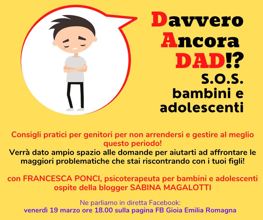 Diretta FB GioiaER_19marzo2021_Ponci Francesca
